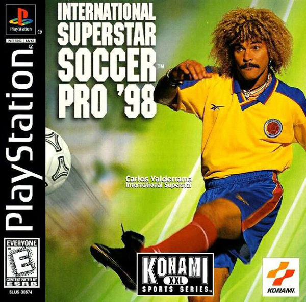 ISS Soccer Pro '98 [U] Front Cover
